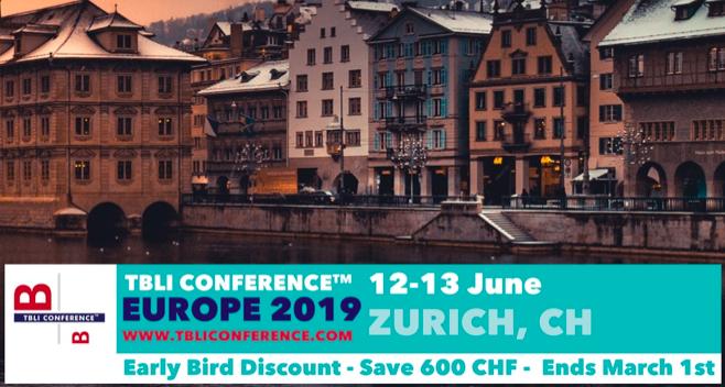 TBLI EUROPE 2019 – Zurich