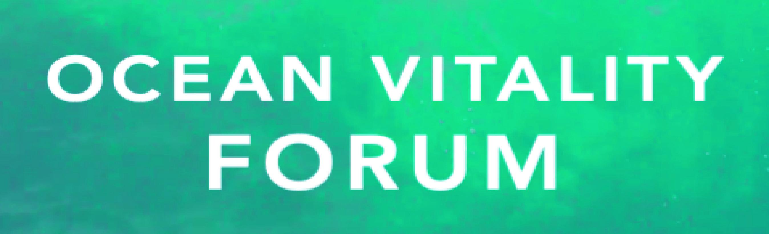Ocean Vitality Forum