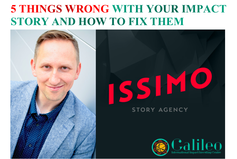5 Things Wrong With Your Impact Story And How To Fix Them