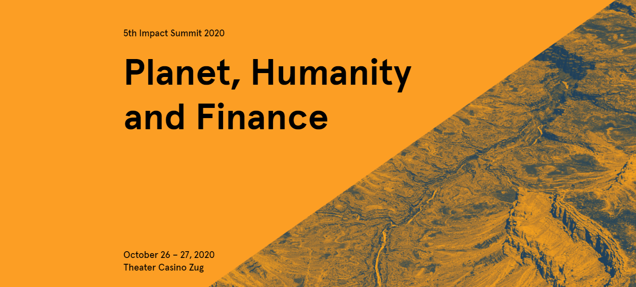 Planet, Humanity and Finance